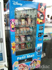 Disney snack vending machine