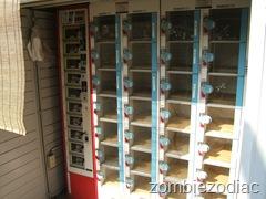 Egg and veggie vending machine