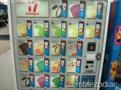 Glico ice cream vending machine
