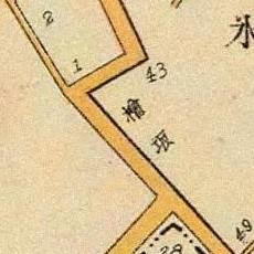 Cypress Rise map, 1905