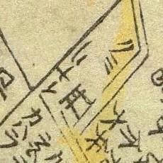Inari Rise map, 1707