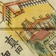 Old hikawa map, 1710