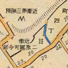 Cat Rise map, 1905