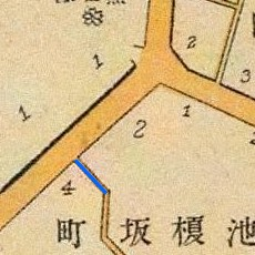 Cherry Rise map, 1905