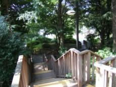 Stairs to Minami Mto Machi Park