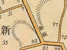 New Rise map, 1905