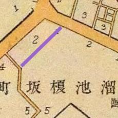 New Hackberyy Rise map, 1905