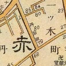 Tango map, 1905