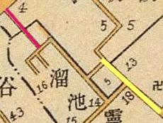 Festival Drum Rise map, 1905