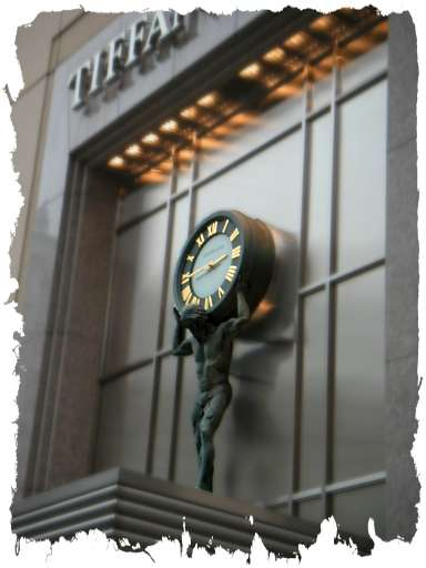 Tiffany Co Facade Clock