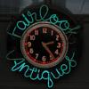 Fairlook Antiques Sign Clock