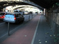 Cologne hostile pedestrian environment