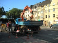 Cologne utility work