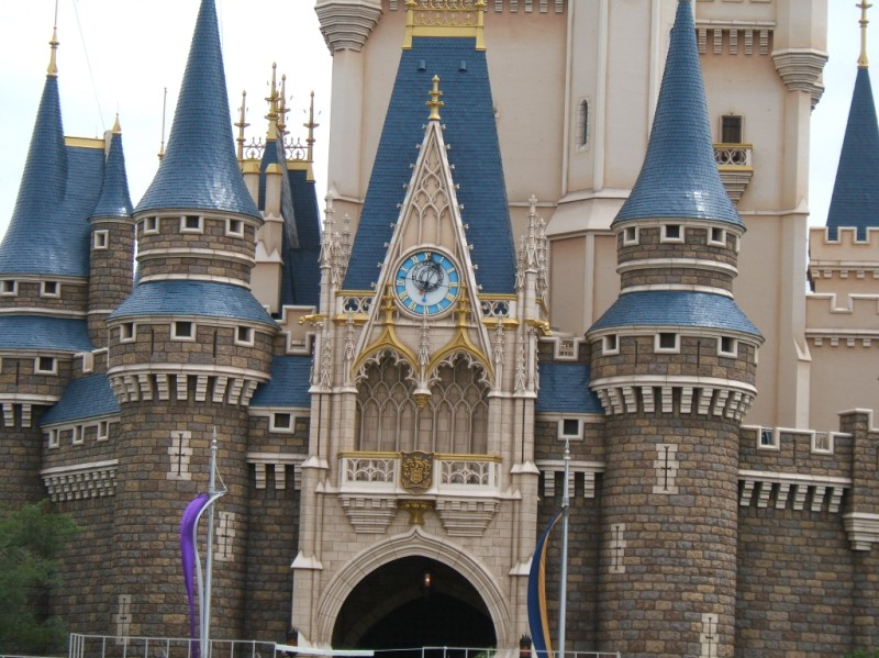 Cinderella's Castle Clock