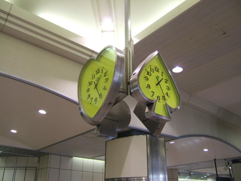 Maihama Turnstiles Clock