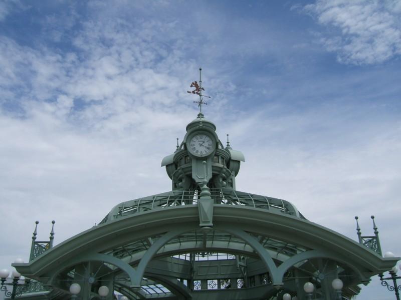 Gazebo clock