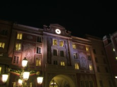 Disney Sea Hotel MiraCosta Clock