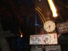 Raging Spirits Clock