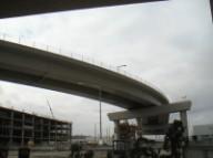 Metro parking, new on-ramp