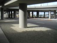 Atlantic interchange, underside