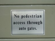 Don't Walk Here