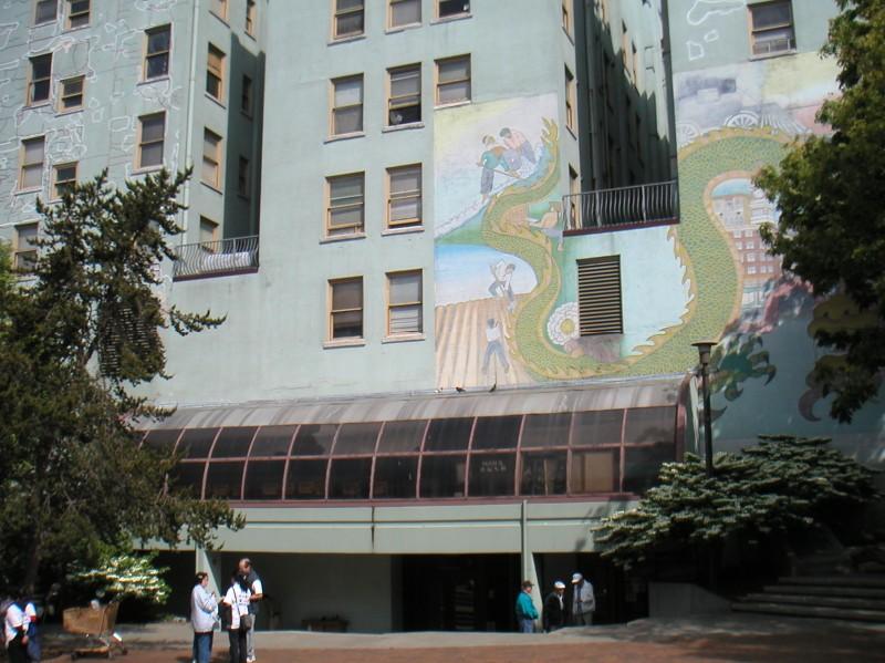 Mixed signals id neighborhood murals for Contemporary resort mural