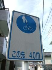 No Cars Next 40 Meters
