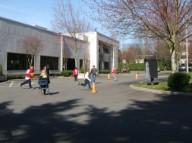 Parking lot playground
