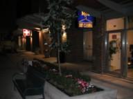 Yaletown sidewalk night