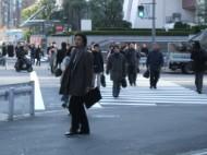 pedestrian wave