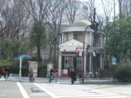 Shrine Shinjuku Central Park entrance