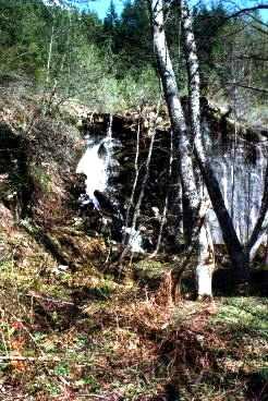 Iron Goat waterfall